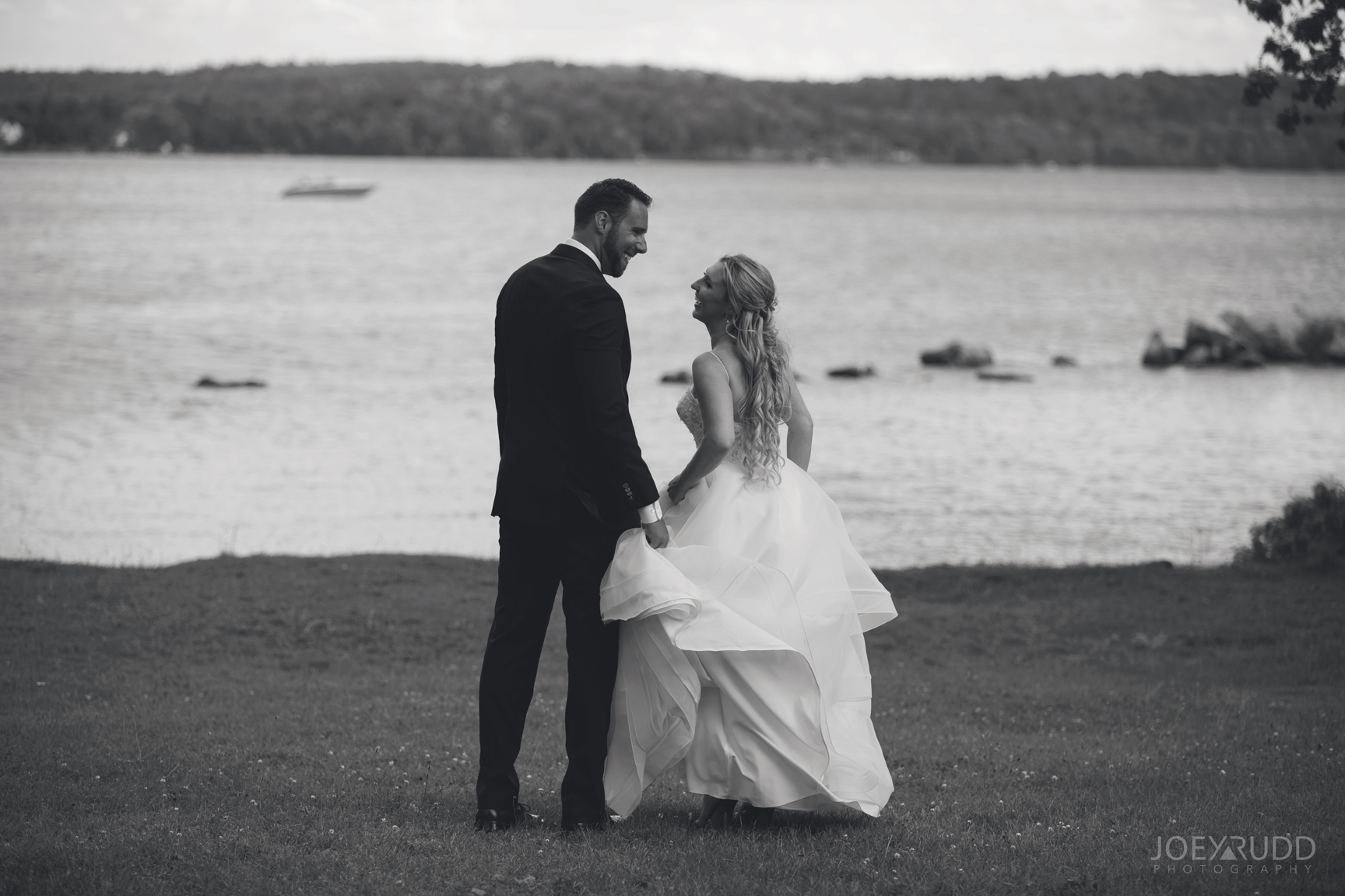Calabogie Wedding at Barnet Park by Ottawa Wedding Photographer Joey Rudd Photography Romantic Photo