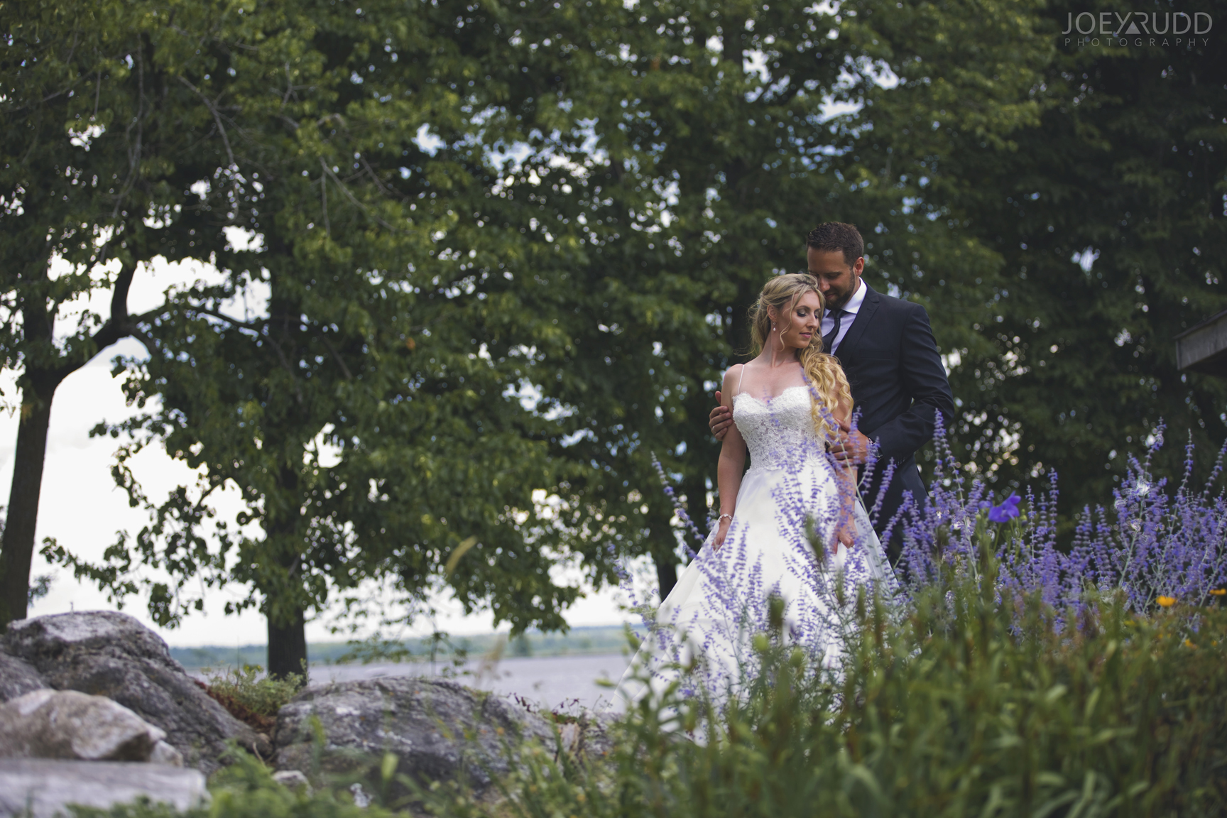 Calabogie Wedding at Barnet Park by Ottawa Wedding Photographer Joey Rudd Photography Flowers by the Lake