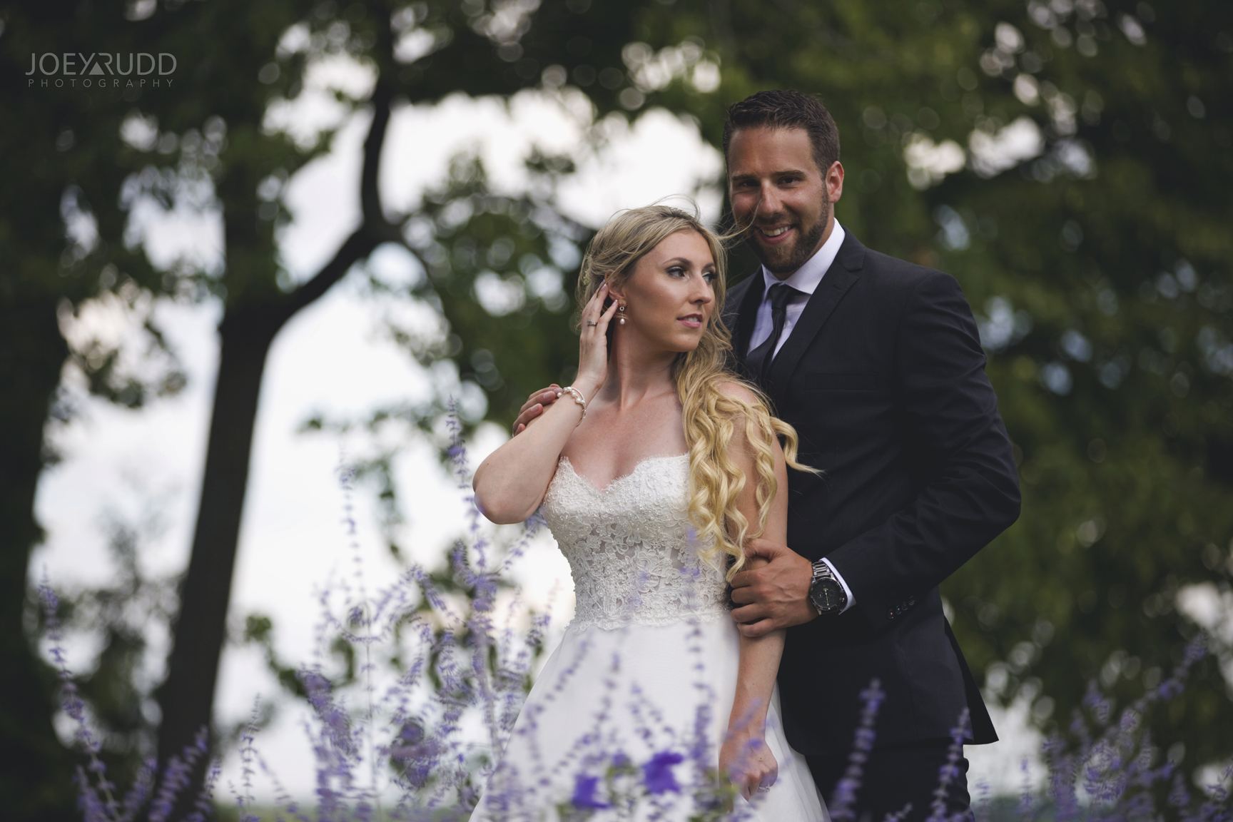 Calabogie Wedding at Barnet Park by Ottawa Wedding Photographer Joey Rudd Photography Dramatic