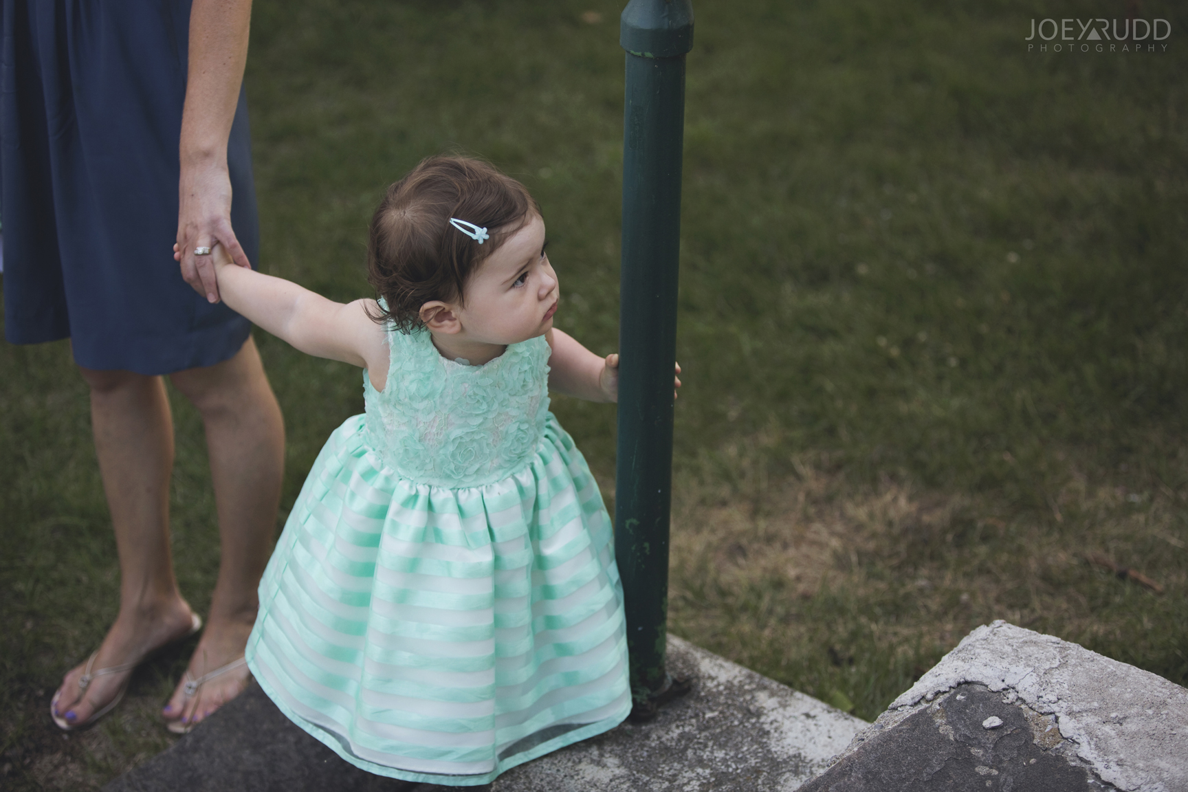 Calabogie Wedding at Barnet Park by Ottawa Wedding Photographer Joey Rudd Photography Cute Flower Girl