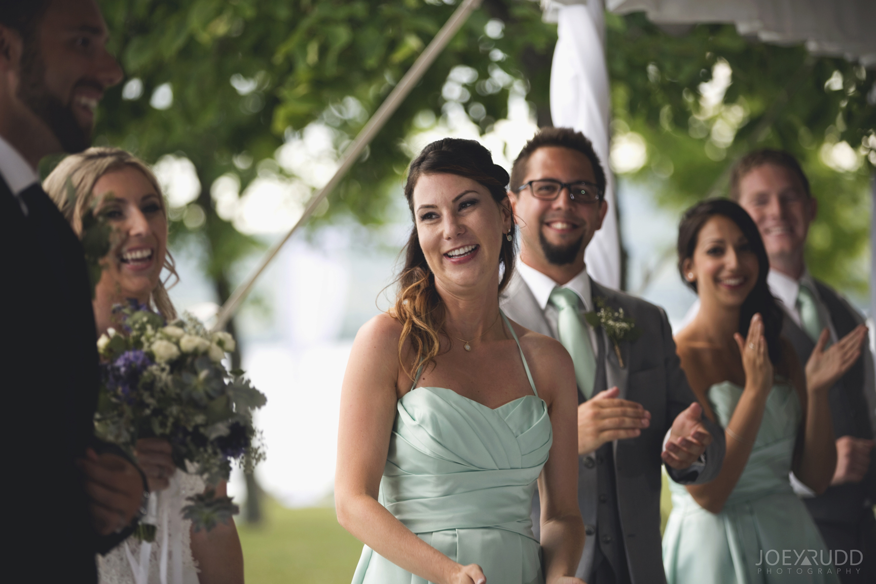 Calabogie Wedding at Barnet Park by Ottawa Wedding Photographer Joey Rudd Photography Candid Reception
