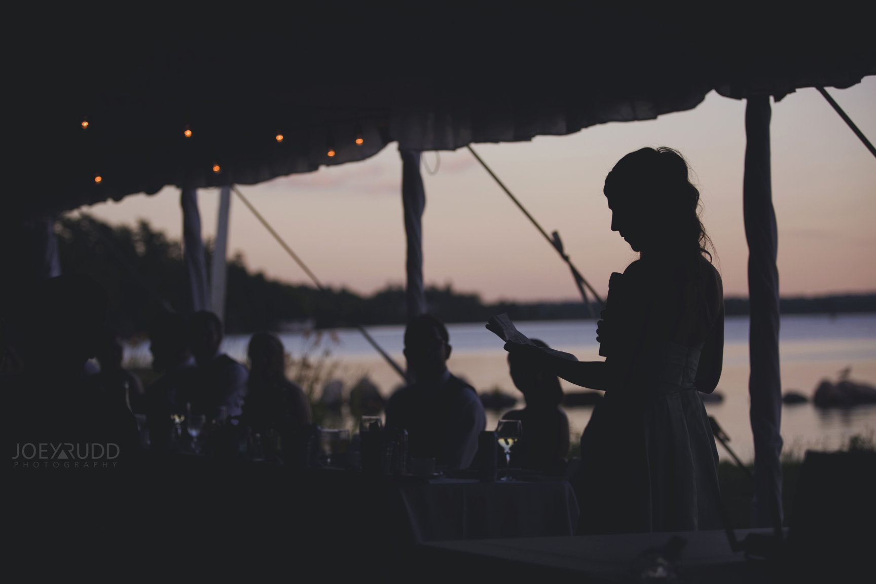 Calabogie Wedding at Barnet Park by Ottawa Wedding Photographer Joey Rudd Photography Sunset