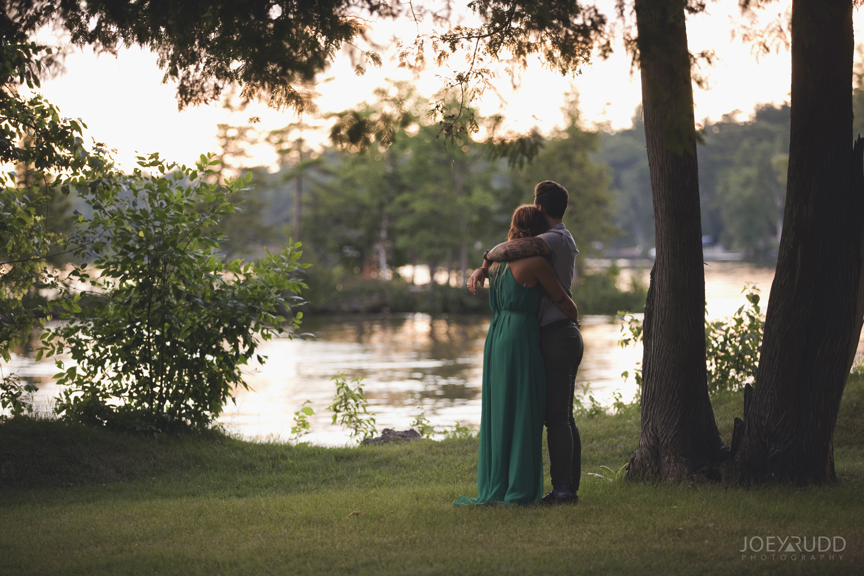 Calabogie Wedding at Barnet Park by Ottawa Wedding Photographer Joey Rudd Photography Love Sunset