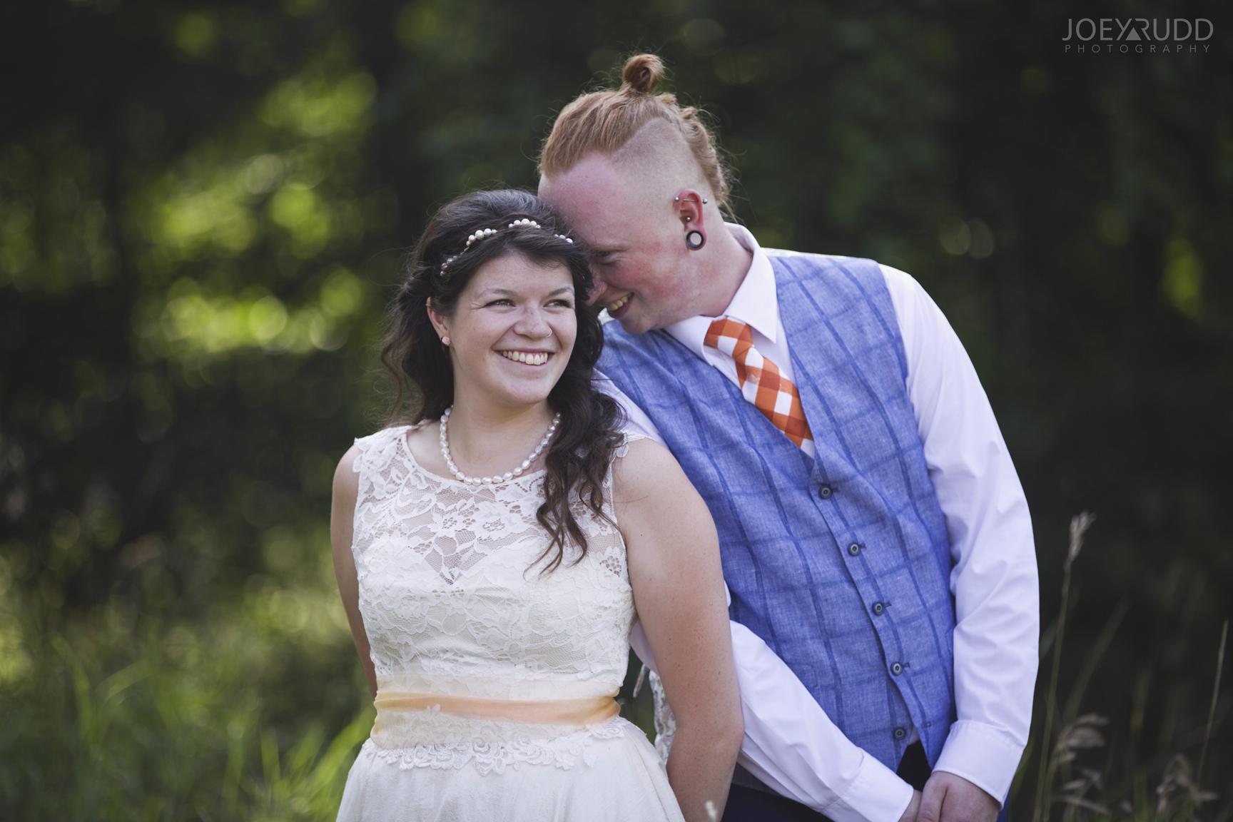 Kingston Wedding Photographer Joey Rudd Photography Backyard Non-traditionalWedding