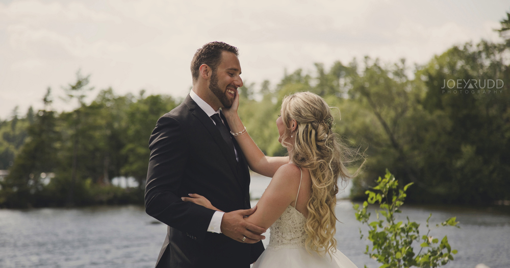 Free Tickets to the Wedding Palace Bridal Show Ottawa Wedding Photographer Joey Rudd Photography Calabogie Wedding First Look Photo