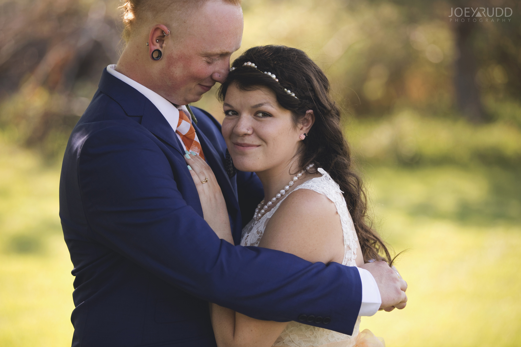 Backyard Kingston Wedding by Ottawa Wedding Photographer Joey Rudd Photography Couple Pose