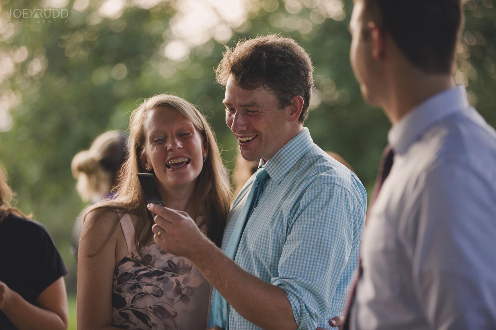 Backyard Kingston Wedding by Ottawa Wedding Photographer Joey Rudd Photography Candid Polaroid