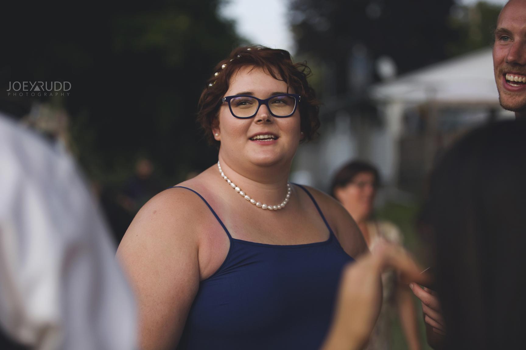 Backyard Kingston Wedding by Ottawa Wedding Photographer Joey Rudd Photography Candid Wedding Party
