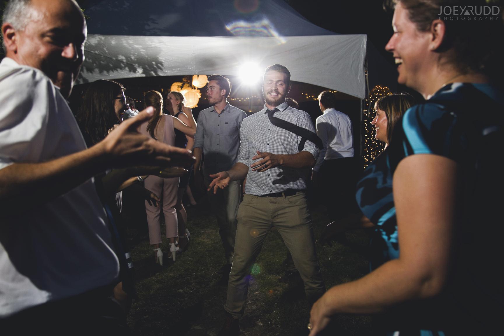 Backyard Kingston Wedding by Ottawa Wedding Photographer Joey Rudd Photography Dancing Candid