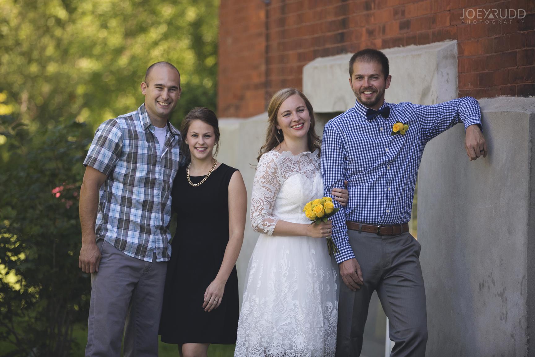 Ottawa Elopement by Joey Rudd Photography Ottawa Wedding Photographer Mer Bleue Ottawa Wedding Chapel Wedding Party