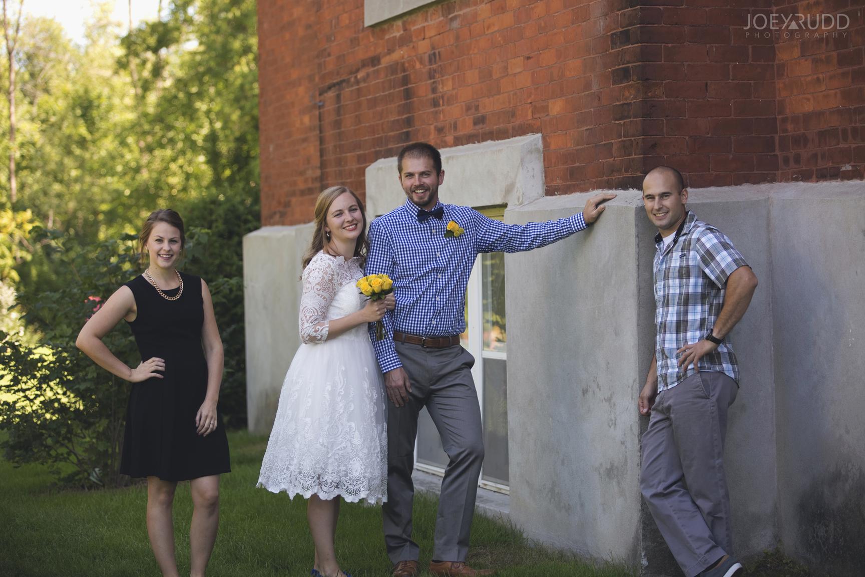 Ottawa Elopement by Joey Rudd Photography Ottawa Wedding Photographer Mer Bleue Ottawa Wedding Chapel Wedding Party Church