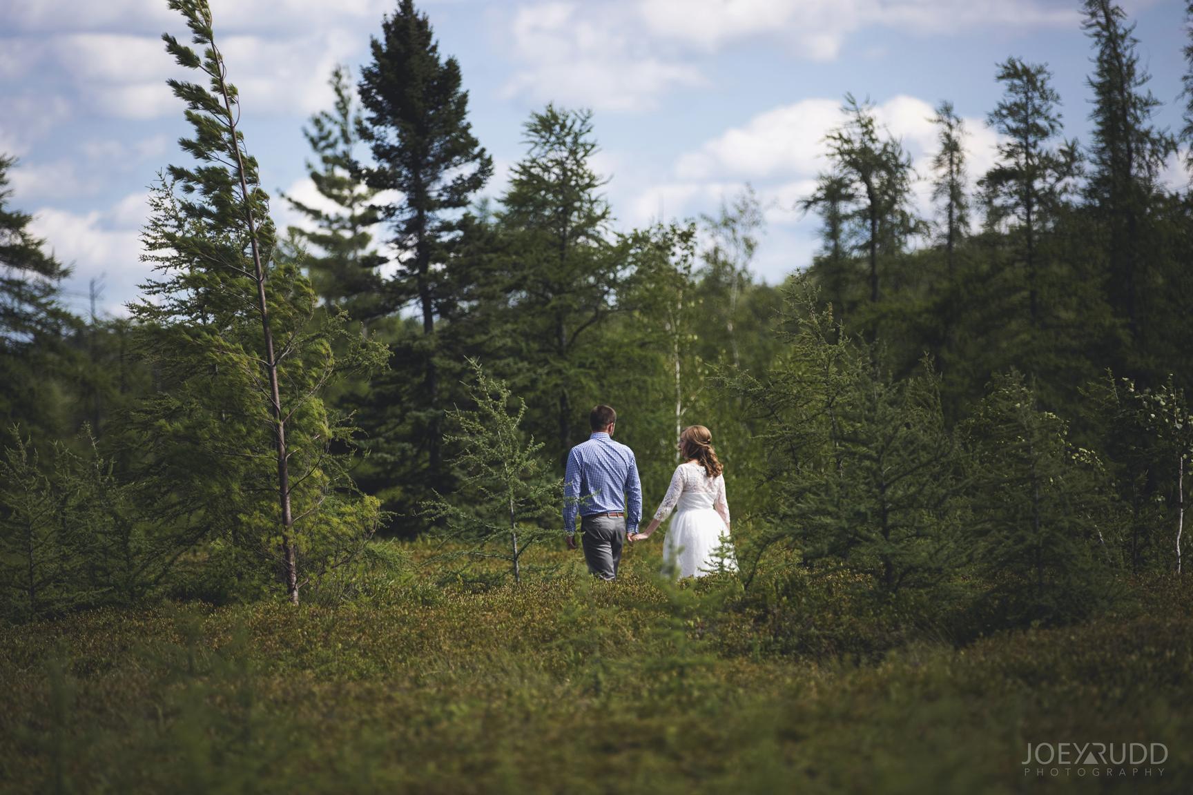 Ottawa Elopement by Joey Rudd Photography Ottawa Wedding Photographer Mer Bleue Ottawa Wedding Chapel Nature Hike