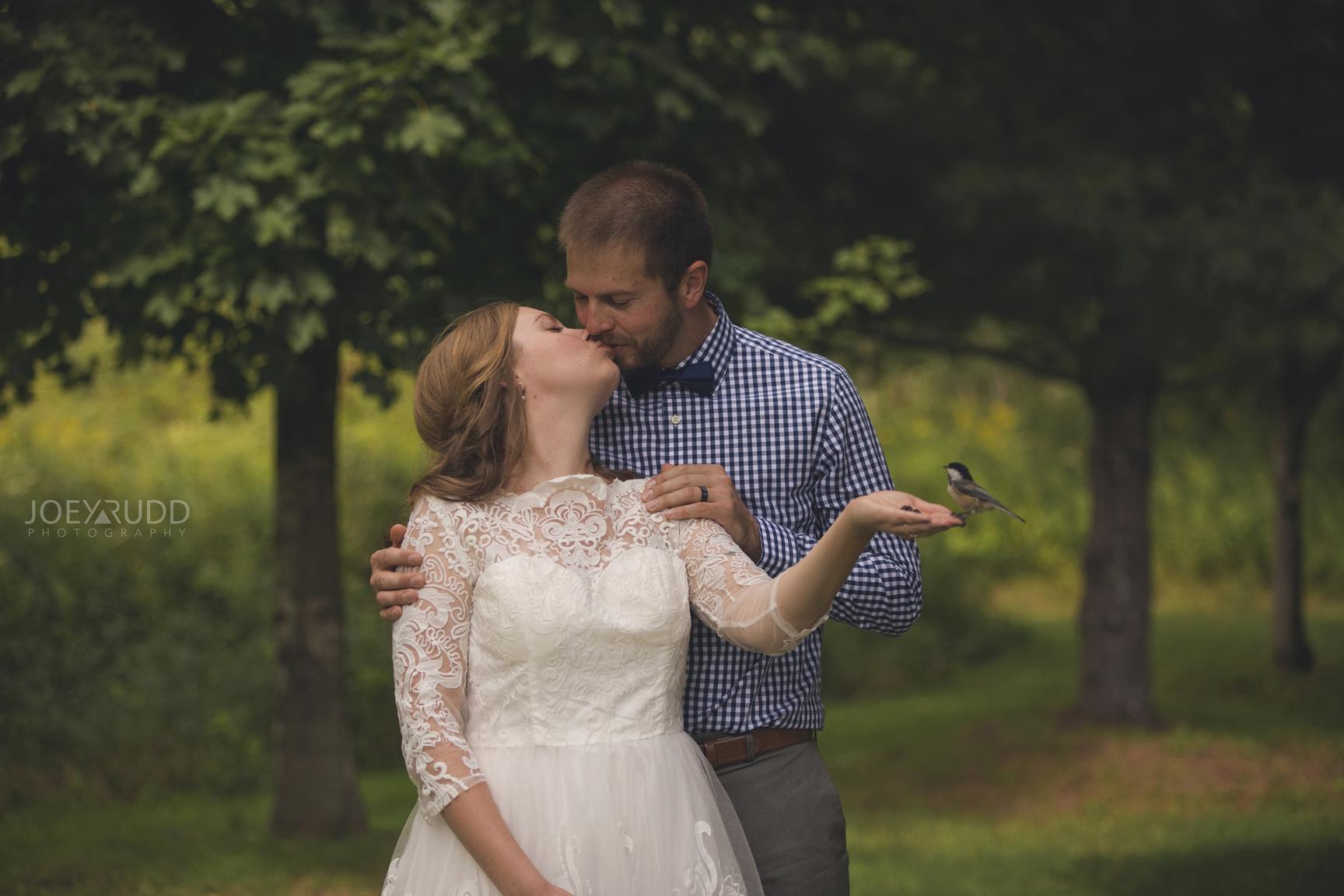 Ottawa Elopement by Joey Rudd Photography Ottawa Wedding Photographer Mer Bleue Ottawa Wedding Chapel Chickadees