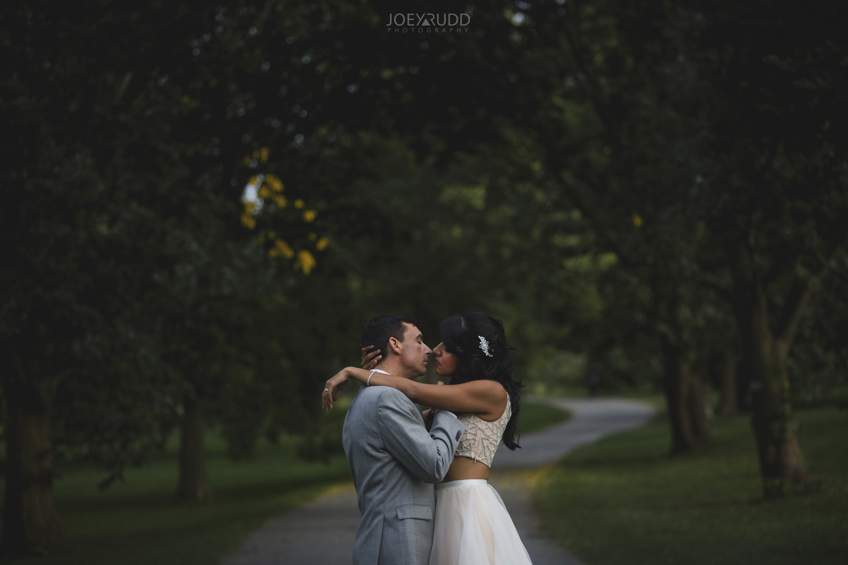 Elopement Wedding at the Arboretum by Ottawa Wedding Photographer Joey Rudd Photography Nature Path