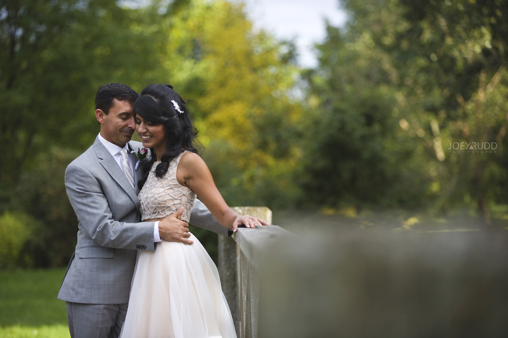 Elopement Wedding at the Arboretum by Ottawa Wedding Photographer Joey Rudd Photography Fall Colours