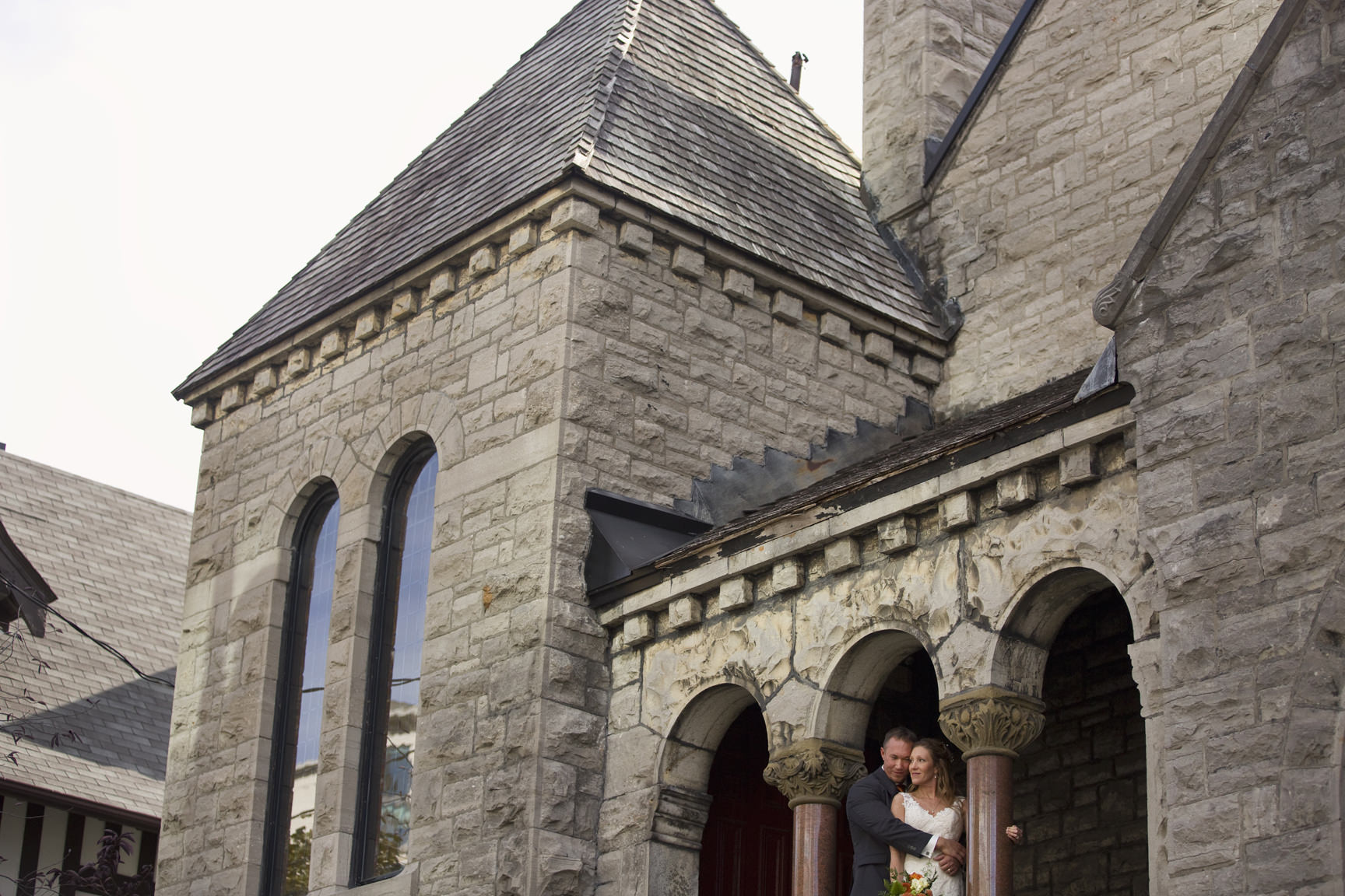 Beautiful Fall Wedding in Ottawa by Joey Rudd Photography St Paul's Eastern United Church Downtown