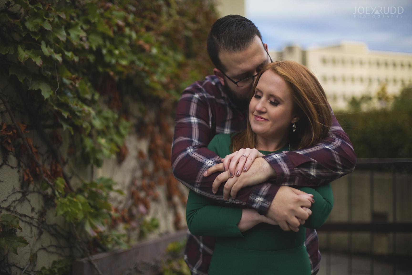 University of Ottawa Engagement by Ottawa Wedding Photographer Joey Rudd Photography Fall Pose