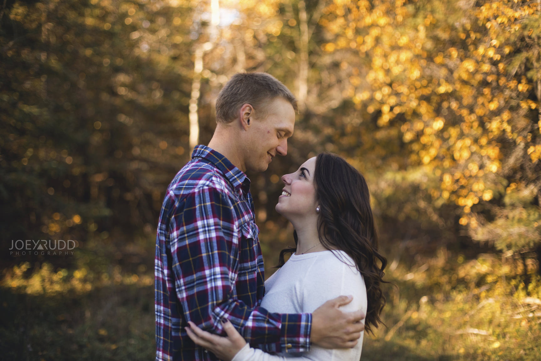 Carleton Place Engagement by Joey Rudd Photography Fall Leaves