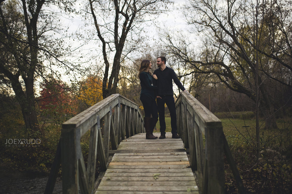 Brockville Engagement Photos by Ottawa Wedding Photographer Joey Rudd Photography Bridge