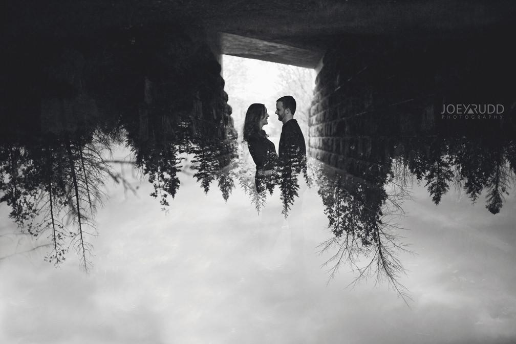 Brockville Engagement Photos by Ottawa Wedding Photographer Joey Rudd Photography Multiple Exposure