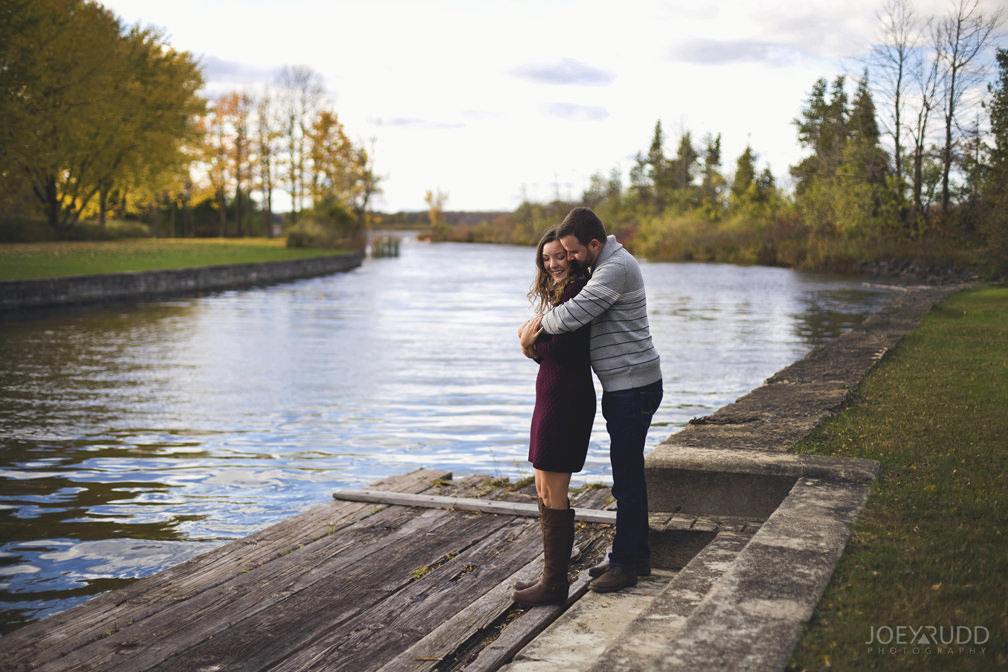 Brockville Engagement Photos by Ottawa Wedding Photographer Joey Rudd Photography Dock