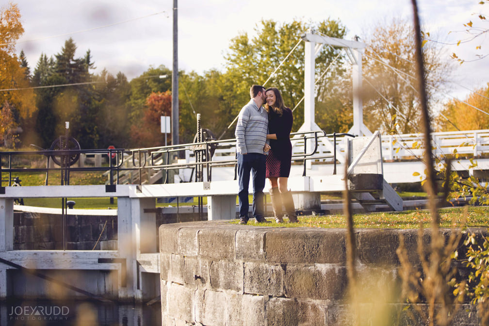 Brockville Engagement Photos by Ottawa Wedding Photographer Joey Rudd Photography Locks