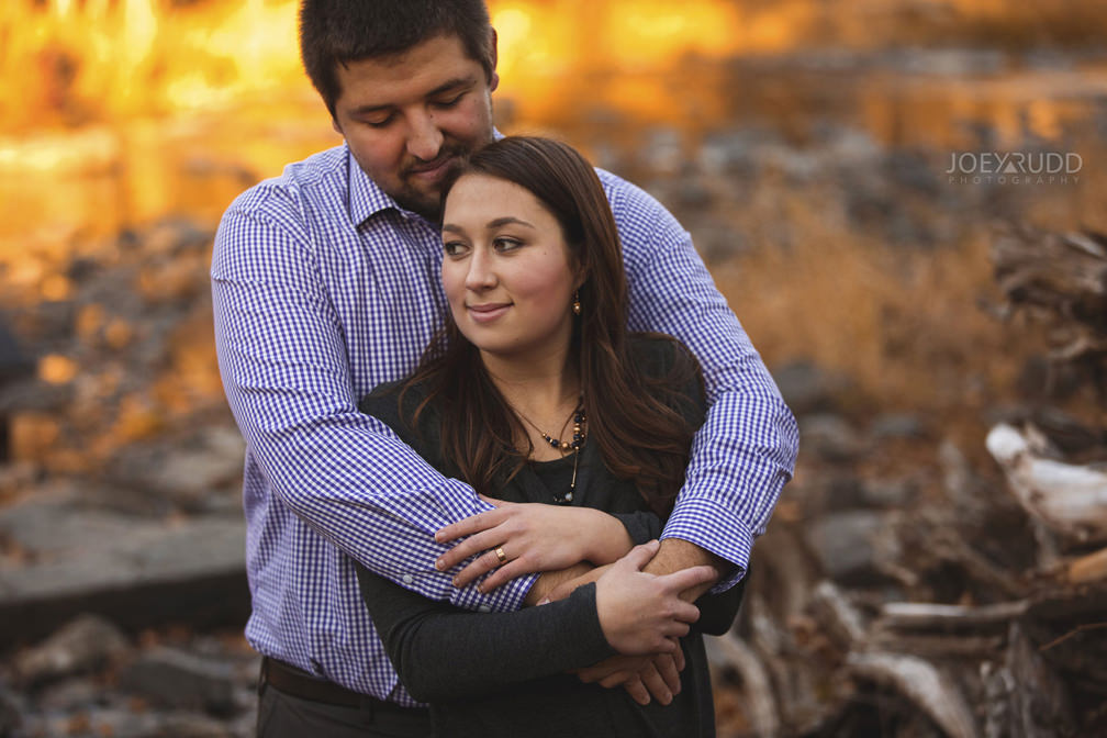 Almonte Engagement Session by Ottawa Wedding Photographer Joey Rudd Photography Fall