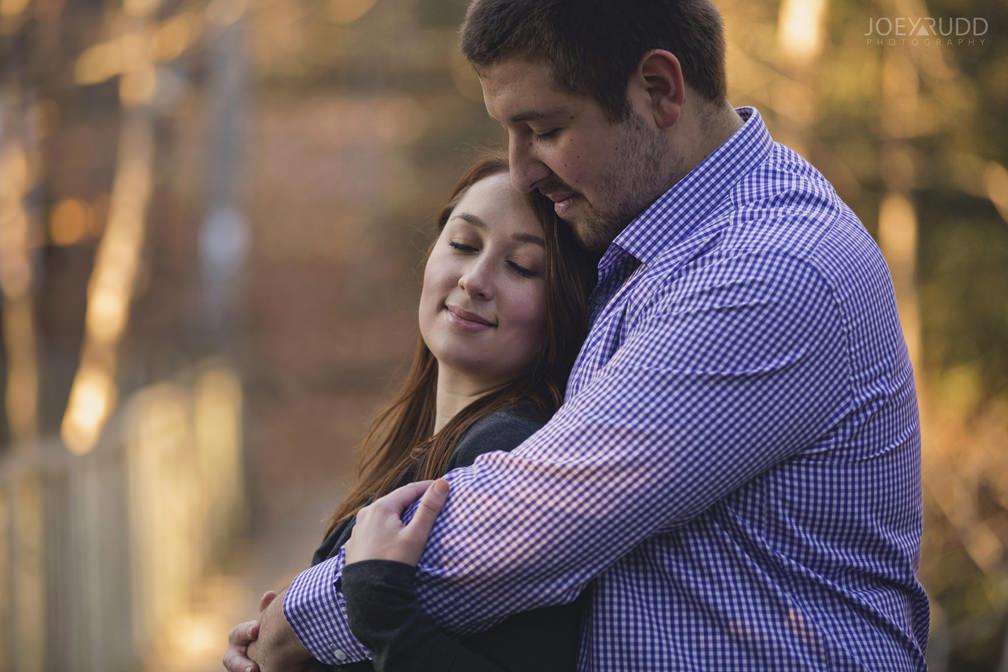 Almonte Engagement Session by Ottawa Wedding Photographer Joey Rudd Photography Bridge