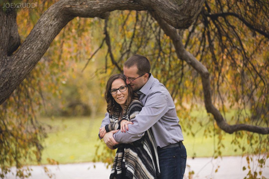 Ottawa Engagement Photography by Photographer Joey Rudd Photography Trees
