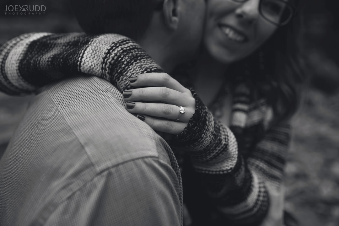 Ottawa Engagement Photography by Photographer Joey Rudd Photography Natural Posing Detail Ring