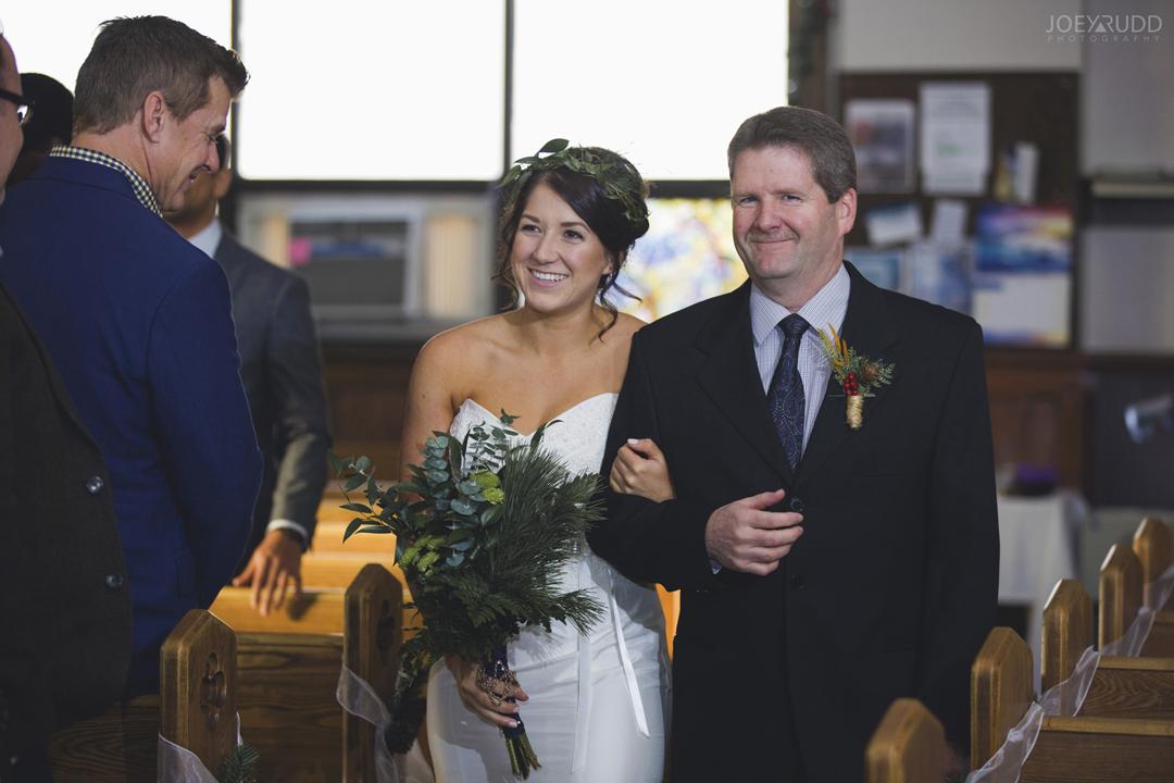 Ottawa winter wedding by ottawa wedding photographer Joey Rudd Photography Ceremony