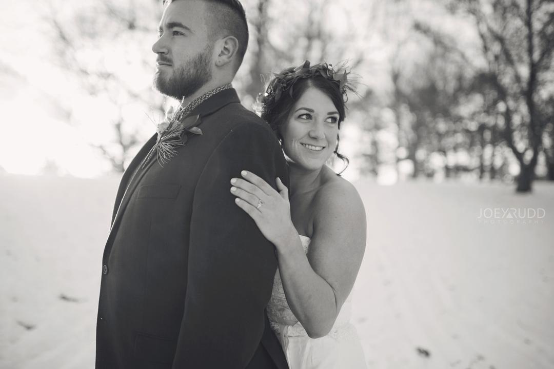 Ottawa winter wedding by ottawa wedding photographer Joey Rudd Photography Creative