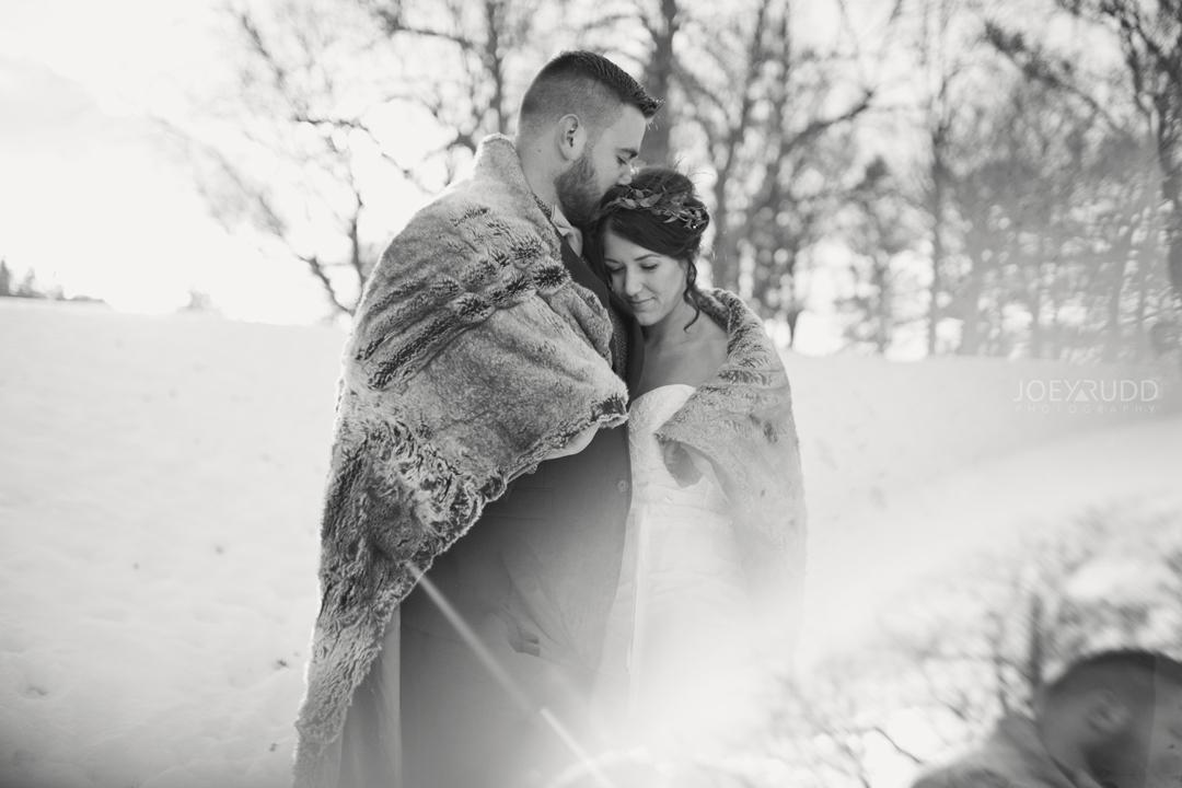 Ottawa winter wedding by ottawa wedding photographer Joey Rudd Photography Prisming