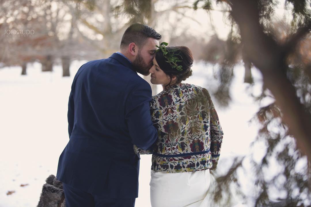 Ottawa winter wedding by ottawa wedding photographer Joey Rudd Photography Candid Moment