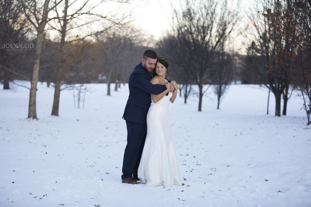 Ottawa winter wedding by ottawa wedding photographer Joey Rudd Photography Dress