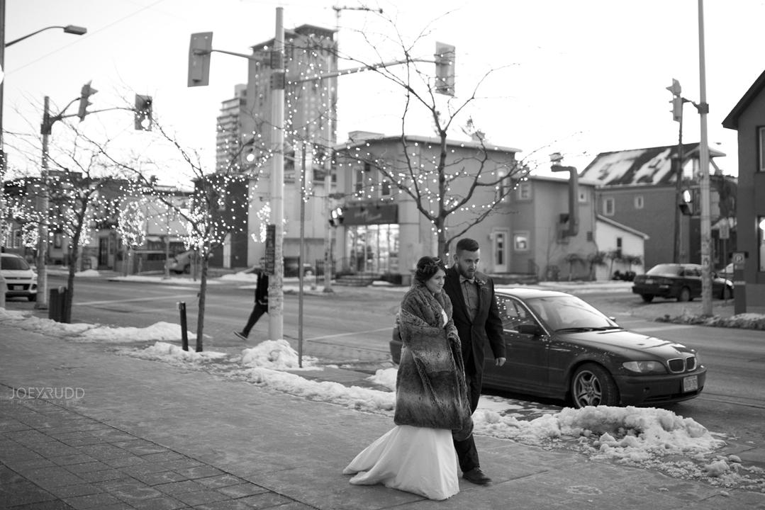 Ottawa winter wedding by ottawa wedding photographer Joey Rudd Photography Salt Preston Downtown