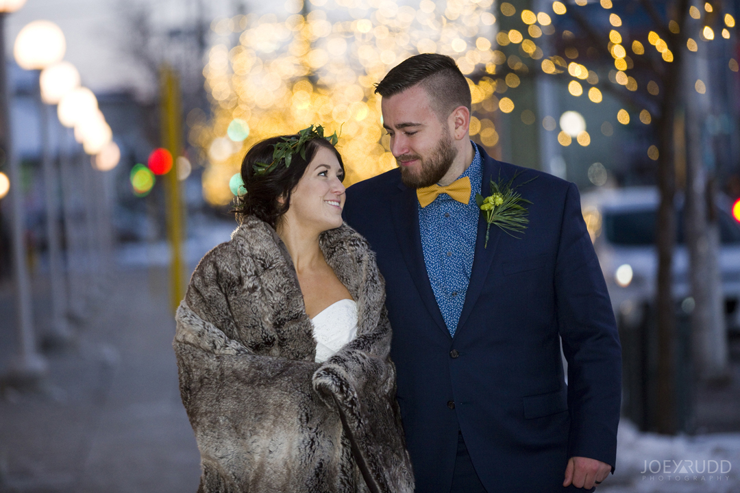 Ottawa winter wedding by ottawa wedding photographer Joey Rudd Photography Salt Preston Lights