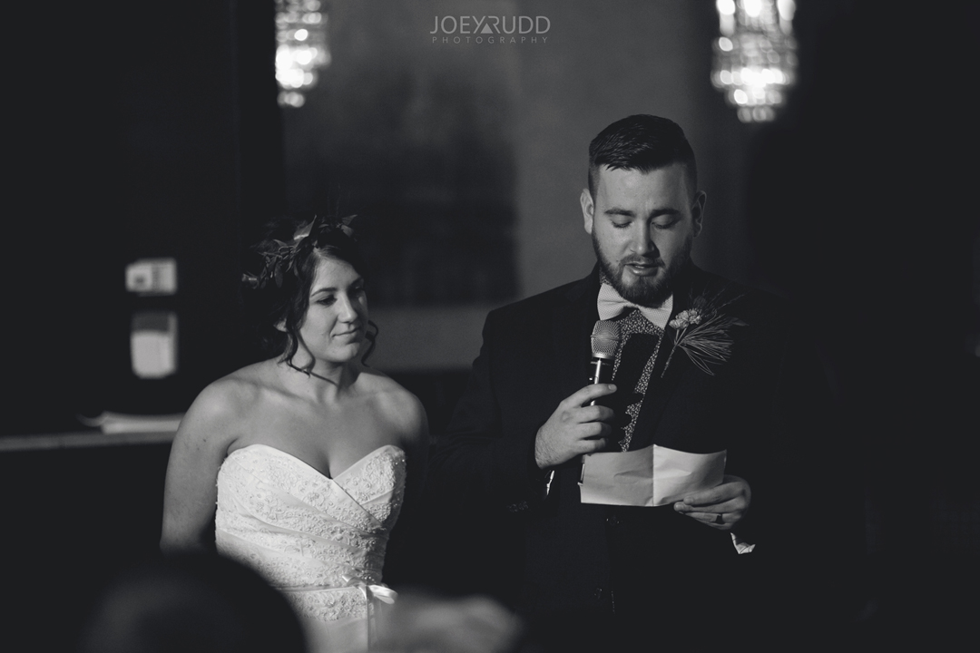 Ottawa winter wedding by ottawa wedding photographer Joey Rudd Photography Salt Preston Couple