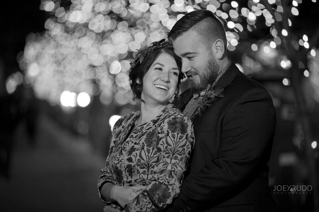 Ottawa winter wedding by ottawa wedding photographer Joey Rudd Photography Salt Preston Lights Night Lifestyle