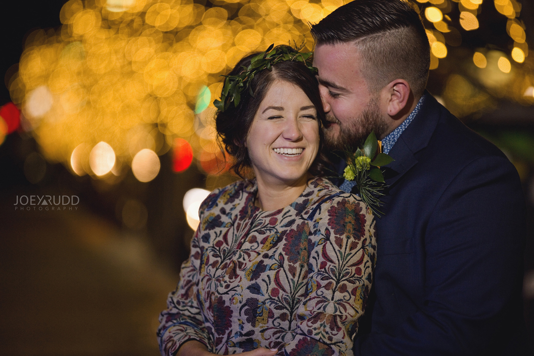 Ottawa winter wedding by ottawa wedding photographer Joey Rudd Photography Salt Preston Lights Night Beautiful