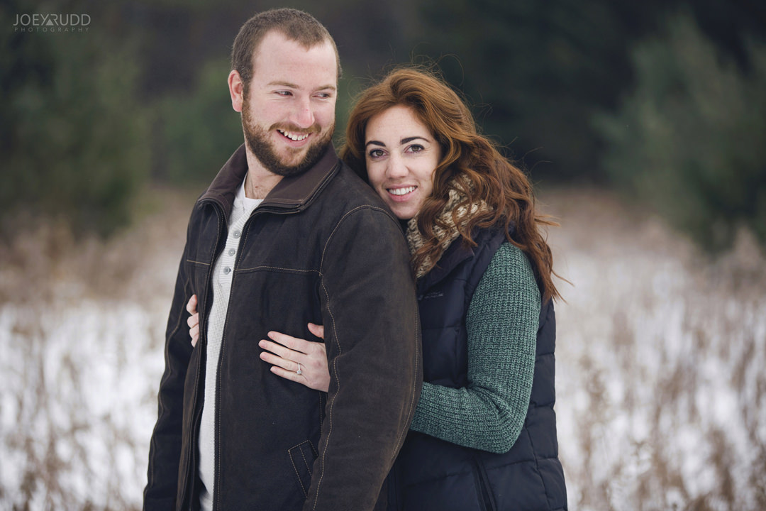 Almonte Engagement at the Mill of Kintail by Ottawa Wedding Photographer Joey Rudd Photography Winter traditional