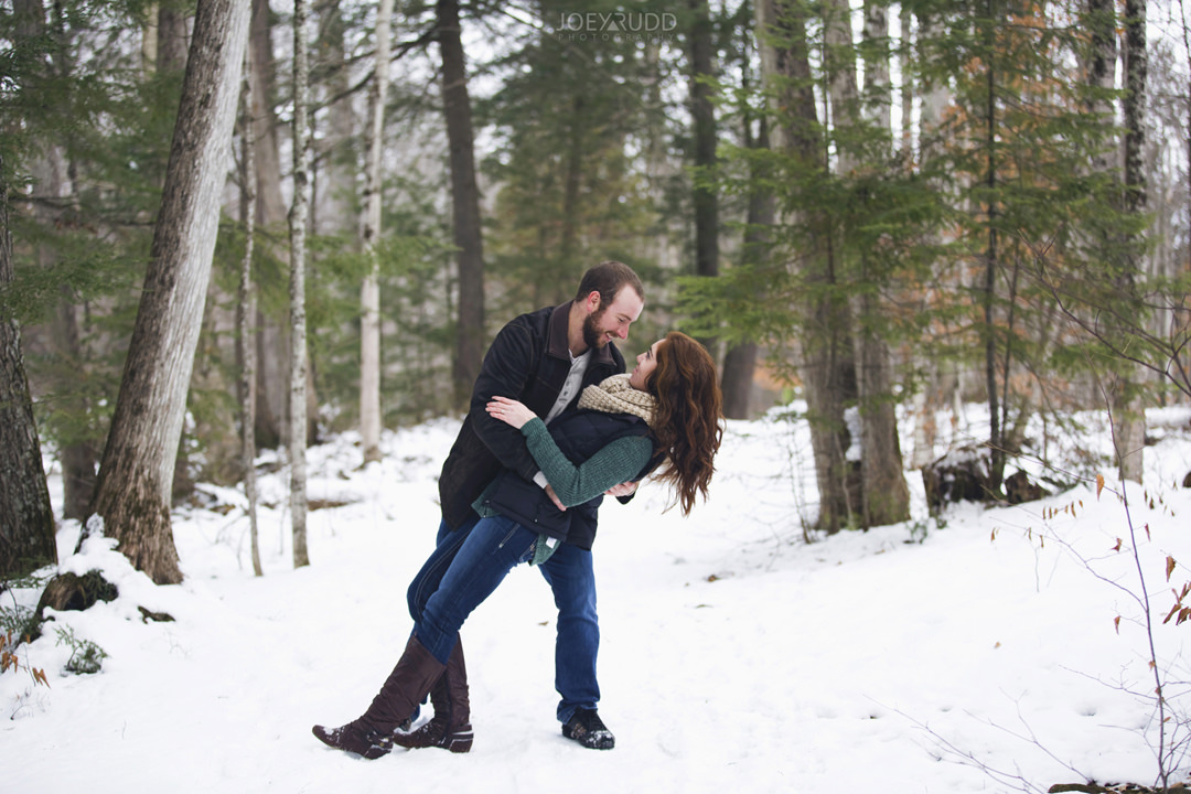 Almonte Engagement at the Mill of Kintail by Ottawa Wedding Photographer Joey Rudd Photography Winter 35mm