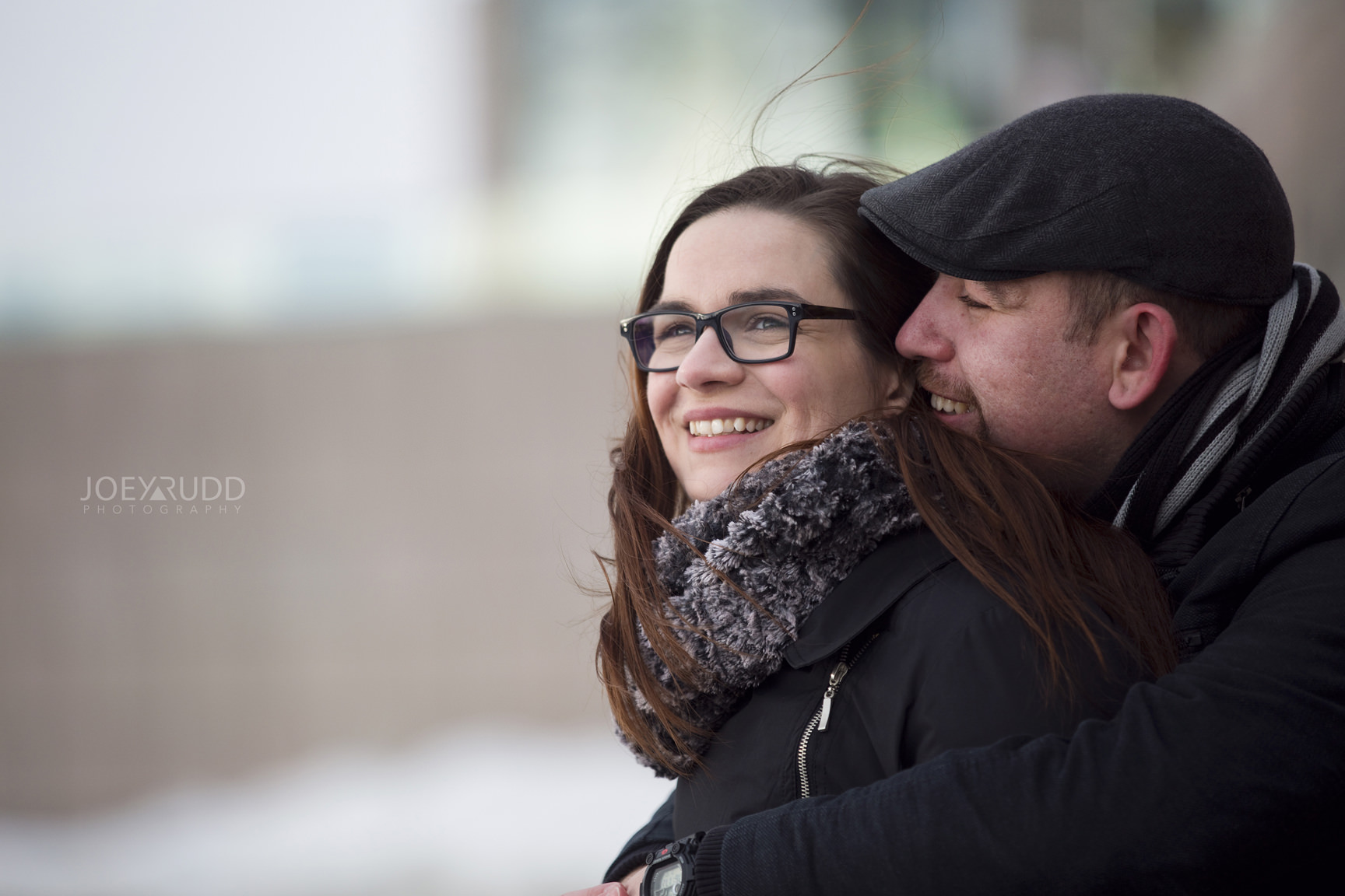 Winter Engagement Ottawa Art Gallery