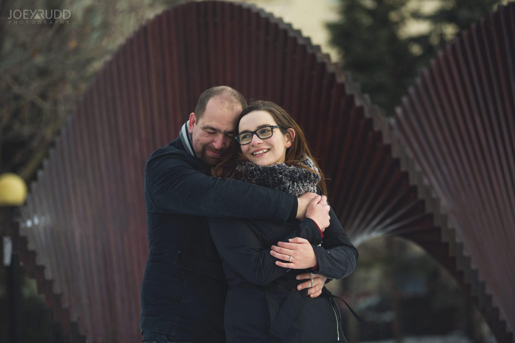 winter engagement at major's hill park by ottawa wedding photographer joey rudd photography modern art