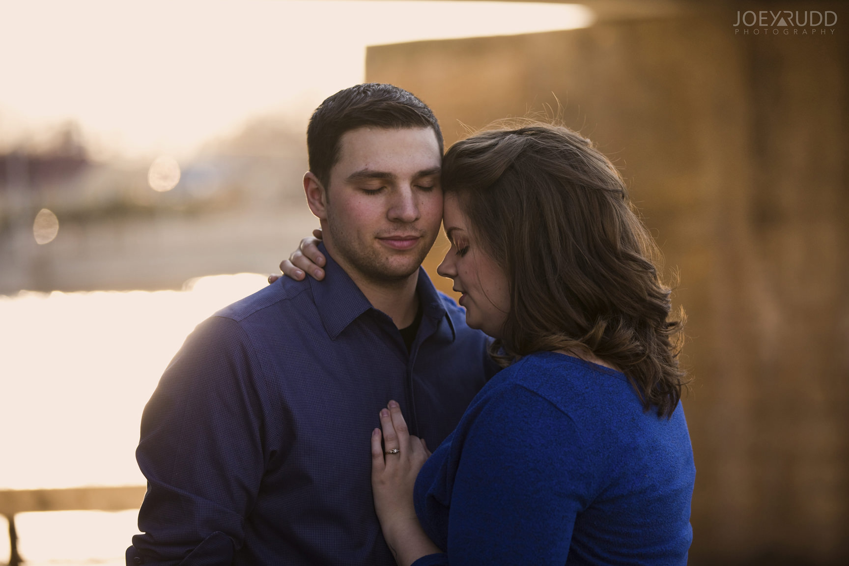 Almonte engagement photography by ottawa wedding photographer joey rudd photography evening light
