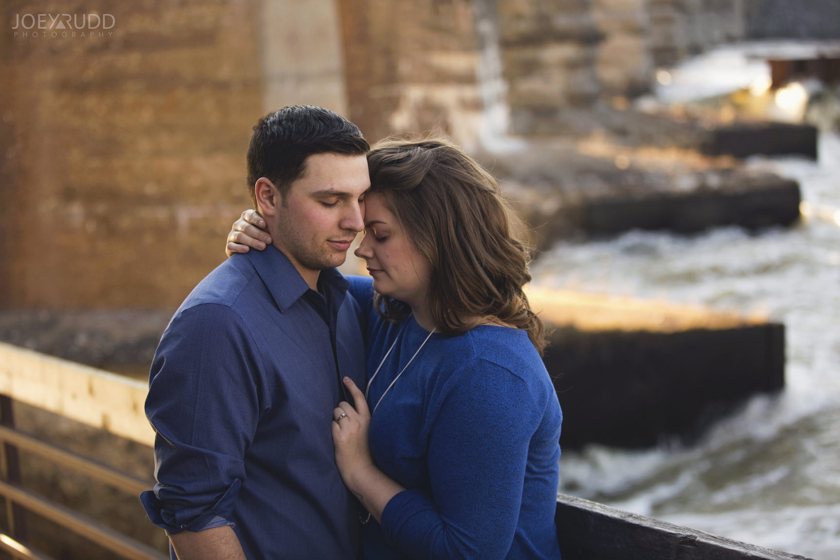 Almonte engagement photography by ottawa wedding photographer joey rudd photography River