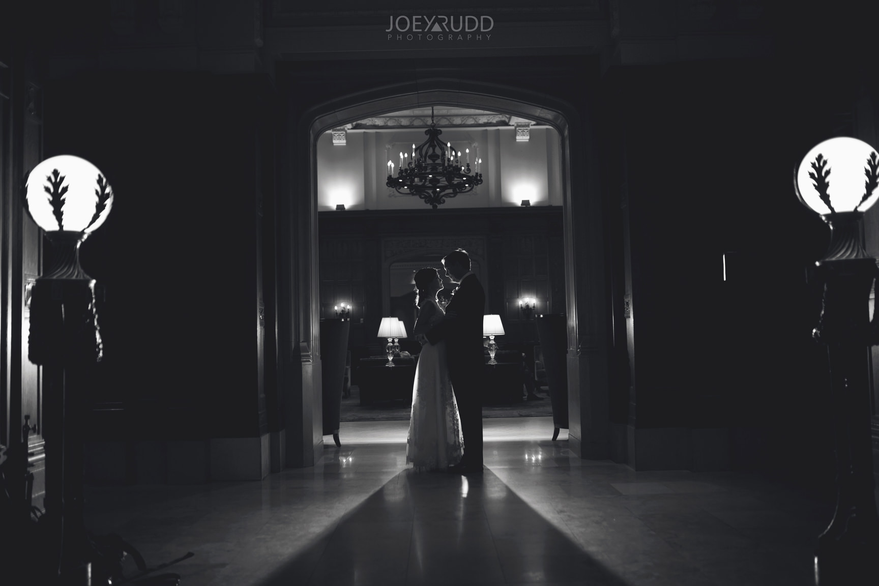 Chateau Laurier Elopement Wedding by Ottawa Wedding Photography Joey Rudd Photography Indoor Dramatic Photos