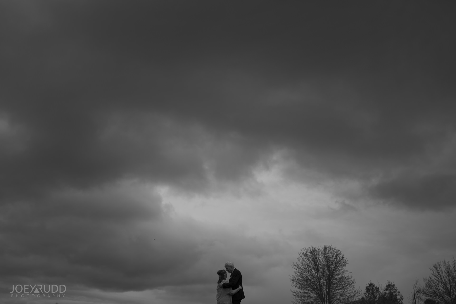 Strathmere Wedding by Ottawa Wedding Photographer Joey Rudd Photography Spring Dramatic Skies