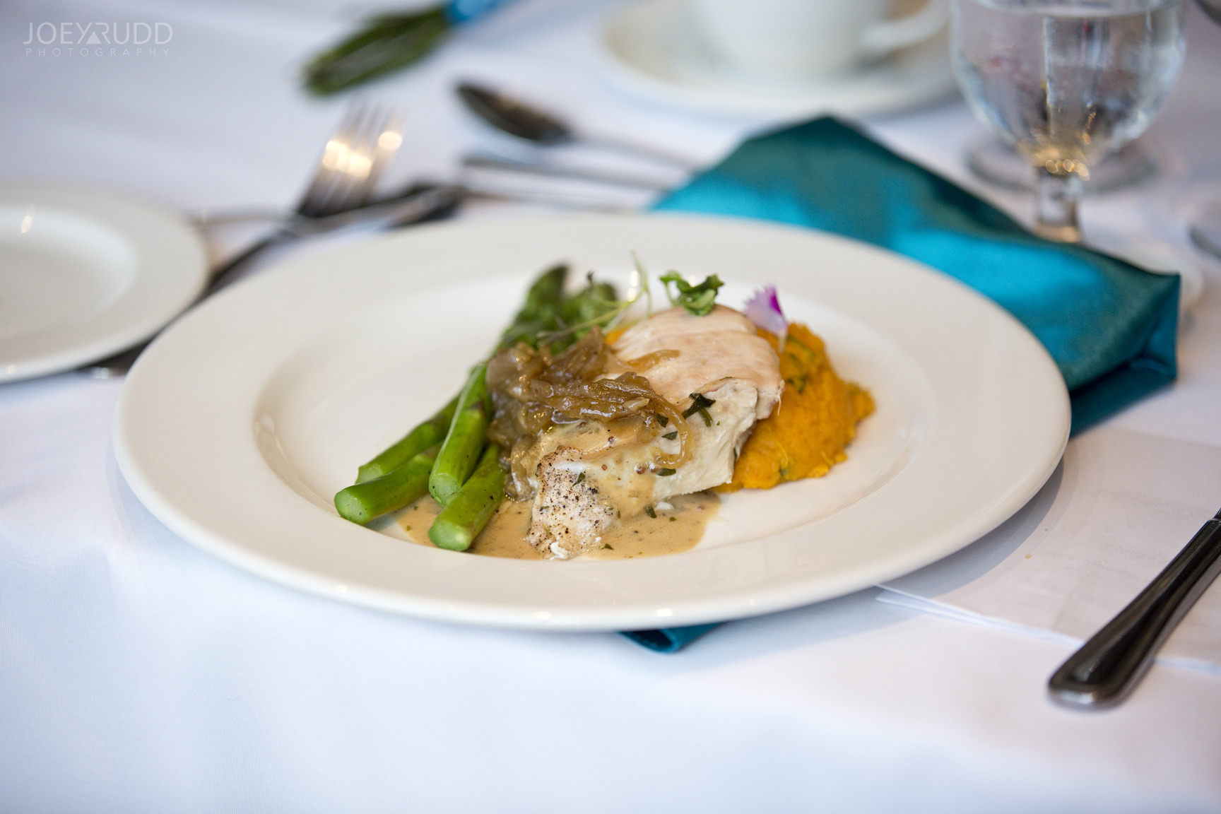 Strathmere Wedding by Ottawa Wedding Photographer Joey Rudd Photography Spring Garden House Reception Food