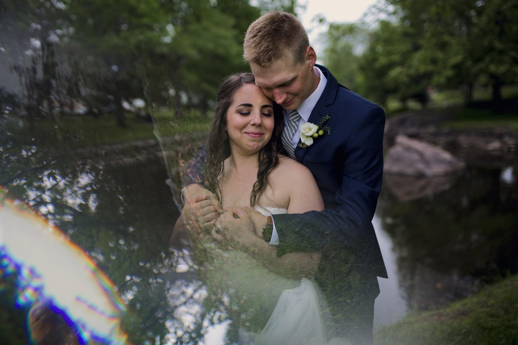 Perth Wedding in Stewart Park by Ottawa Wedding Photographer Joey Rudd Photography Prism Prisming Interesting Creative